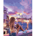 Венецианский бриз Алмазная картина-раскраска по номерам на подрамнике