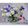 Луговые цветы Алмазная мозаика на подрамнике