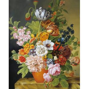 Букет в цветочном горшке Алмазная мозаика на подрамнике LG204