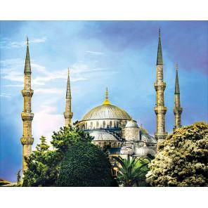 Голубая мечеть Алмазная мозаика на подрамнике LG211