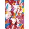 Женщина. Абстракция 100х150 Раскраска картина по номерам на холсте