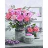 Аромат роз Раскраска картина по номерам на холсте GX32734