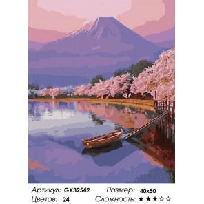 Сложность и количество цветов Восточная природа Раскраска картина по номерам на холсте GX32542