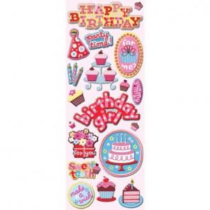 День рождения Стикеры для скрапбукинга K&Company