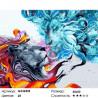 Две сущности льва Раскраска картина по номерам на холсте