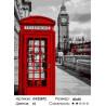 Старый Лондон Раскраска картина по номерам на холсте