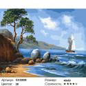 Сложность и количество цветов Неизведанный берег Раскраска картина по номерам на холсте GX32838
