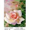 Свежая роза Раскраска картина по номерам на холсте