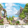 Райское место в Крыму Раскраска картина по номерам на холсте