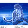 Семейство снежных барсов Раскраска картина по номерам на холсте