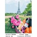 Сложность и количество красок Парижский пикник Раскраска картина по номерам на холсте PK41025