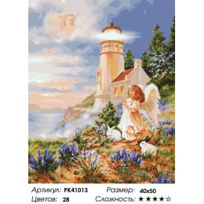 Сложность и количество красок Молитва ангела Раскраска картина по номерам на холсте PK41013