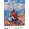 Наслаждение морем Раскраска картина по номерам на холсте