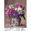 Сложность и количество цветов Букет из флоксов Раскраска картина по номерам на холсте PK41065