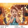 Девочка-бабочка Раскраска картина по номерам на холсте
