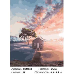 Сложность и количество цветов Туманное утро Раскраска картина по номерам на холсте PK41058