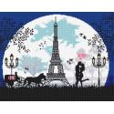Влюбленным в Париж Алмазная вышивка мозаика Алмазное Хобби AH5342