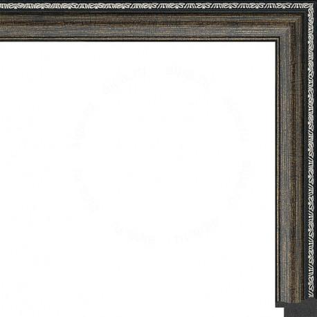 Джеймс (темный) Рамка для картины без подрамника N244