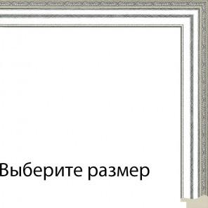 Выберите размер Джеймс (серебро) Рамка для картины без подрамника N245