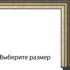 Выберите размер Джеймс (золото) Рамка для картины без подрамника N246