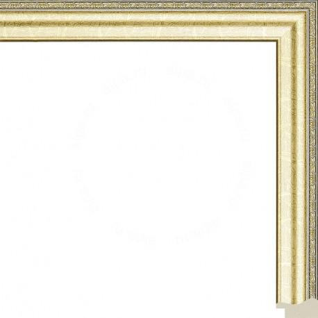 Джеймс (светлое золото) Рамка для картины без подрамника N247