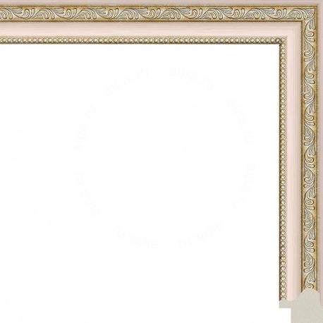 Камерон (розовый) Рамка для картины без подрамника N248