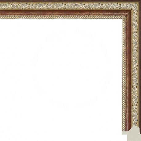 Камерон (коричневый) Рамка для картины без подрамника N249