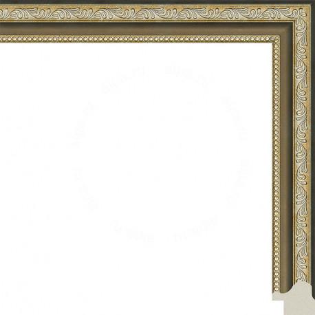 Камерон (бронза) Рамка для картины без подрамника N251