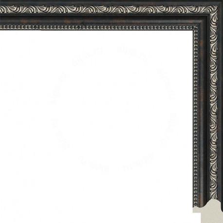 Камерон (темный) Рамка для картины без подрамника N255