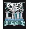 Eagles Champions Раскраска картина по номерам на холсте