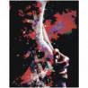 Абстрактный силуэт 80х100 Раскраска картина по номерам на холсте