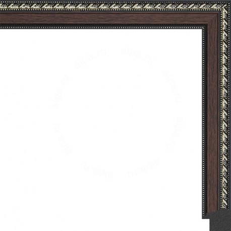 Махагон с золотыми переплетениями Рамка для картины без подрамника N170