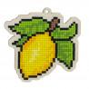 Лимон Алмазная мозаика подвеска Гранни Wood