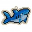 Акула Алмазная мозаика подвеска Гранни Wood W0421