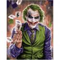 Джокер Раскраска картина по номерам на холсте