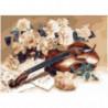 Мелодии весны Раскраска картина по номерам на холсте