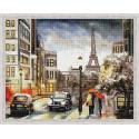 Городская романтика Алмазная мозаика на подрамнике QA204017