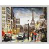 Городская романтика Алмазная мозаика на подрамнике