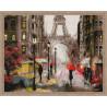 Романтика в Париже Алмазная мозаика на подрамнике