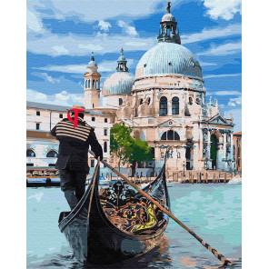 Гондола Раскраска картина по номерам на холсте Z-GX31652