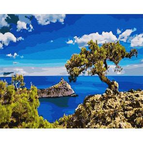 Дерево на горе Раскраска картина по номерам на холсте Z-GX30162