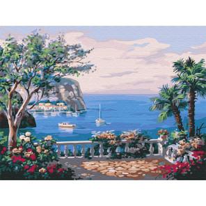 Вид на море Раскраска картина по номерам на холсте Z-EX5220