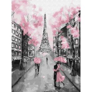 Гламурный Париж Раскраска картина по номерам на холсте Z-EX6257