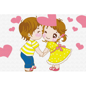 Любовь это Раскраска по номерам PA154