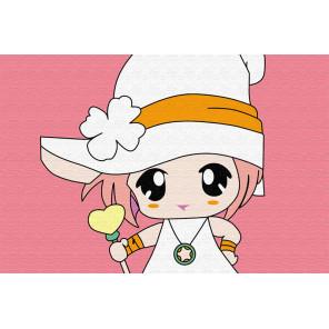 Малышка с конфетой Раскраска по номерам PA153