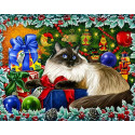 Рождественские Цвета Алмазная вышивка мозаика Гранни AG2422
