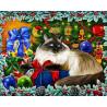 Рождественские Цвета Алмазная вышивка мозаика Гранни