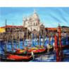 Венецианская тишина Раскраска картина по номерам на холсте