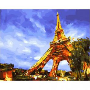 Блеск Парижа Раскраска картина по номерам на холсте
