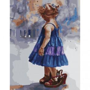 Мамина радость Раскраска картина по номерам на холсте